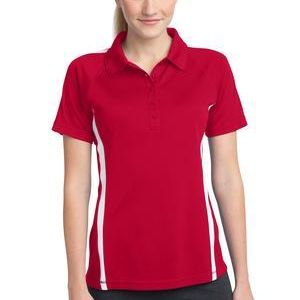 Ladies PosiCharge ® Micro Mesh Colorblock Polo Thumbnail