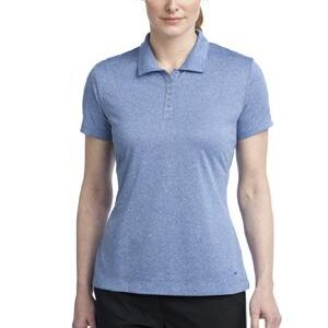Ladies Dri FIT Heather Polo Thumbnail