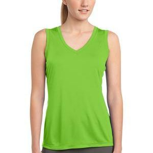 Ladies Sleeveless PosiCharge ® Competitor™ V Neck Tee Thumbnail