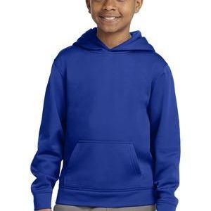 Youth Sport Wick ® Fleece Hooded Pullover Thumbnail