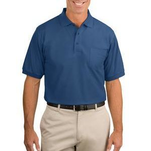 Tall Silk Touch™ Polo with Pocket Thumbnail