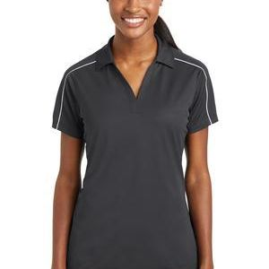 Ladies Micropique Sport Wick ® Piped Polo Thumbnail