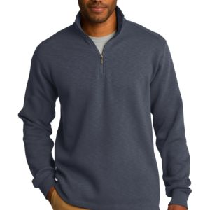 Slub Fleece 1/4 Zip Pullover Thumbnail