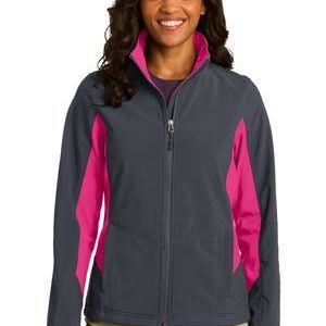 Ladies Core Colorblock Soft Shell Jacket Thumbnail