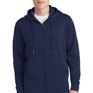 Sport Wick ® Fleece Full Zip Hooded Jacket Thumbnail