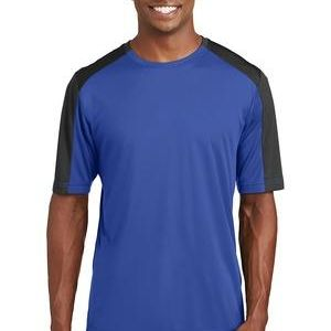 PosiCharge ® Competitor ™ Sleeve Blocked Tee Thumbnail