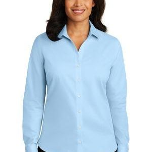 Ladies Non Iron Twill Shirt Thumbnail