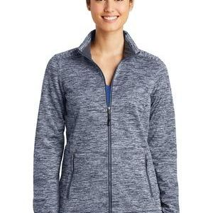Ladies PosiCharge ® Electric Heather Soft Shell Jacket Thumbnail