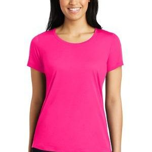 Ladies PosiCharge ® Competitor ™ Cotton Touch ™ Scoop Neck Tee Thumbnail