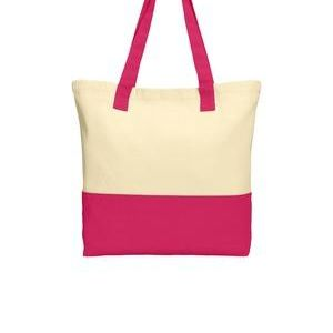 Colorblock Cotton Tote Thumbnail