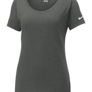 Ladies Core Cotton Scoop Neck Tee Thumbnail