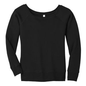 Women's Sponge Fleece Wide Neck Sweatshirt Thumbnail