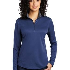 ® Ladies Silk Touch ™ Performance 1/4 Zip Thumbnail