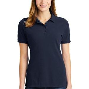 Ladies Combed Ring Spun Pique Polo Thumbnail