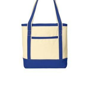 Medium Cotton Canvas Boat Tote Thumbnail